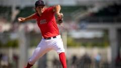 Boston Red Sox pitcher Thaddeus Ward