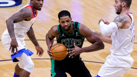 Boston Celtics forward Tristan Thompson