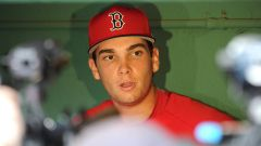 Boston Red Sox player Triston Casas