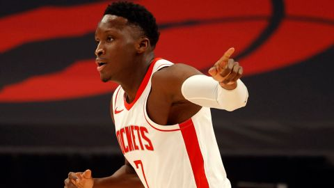 Miami Heat guard Victor Oladipo