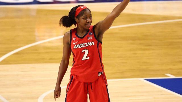 Arizona point guard Aari McDonald