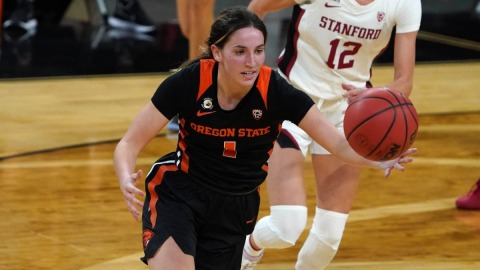 Oregon State Beavers guard Aleah Goodman