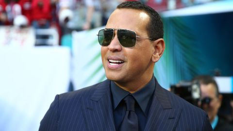 Former MLB player Alex Rodriguez