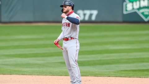 Boston Red Sox Outfielder Alex Verdugo