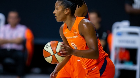 Connecticut Sun forward Alyssa Thomas