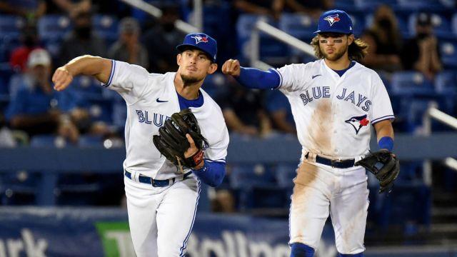 Toronto Blue Jays Bo Bichette, Cavan Biggio