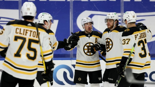 Boston Bruins Left-Winger Brad Marchand