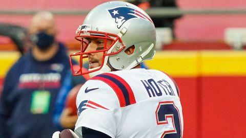 NFL quarterback Brian Hoyer