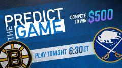 Bruins-Sabres Predict the Game