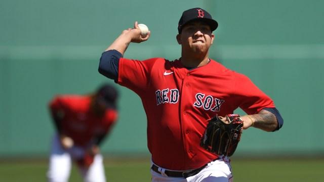 Boston Red Sox pitcher Bryan Mata