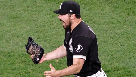 Chicago White Sox Pitcher Carlos Rodon