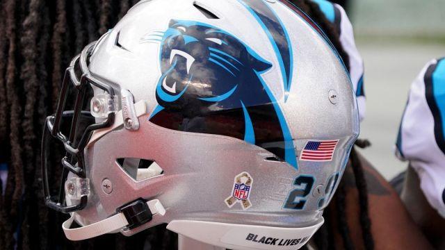 Carolina Panthers helmet