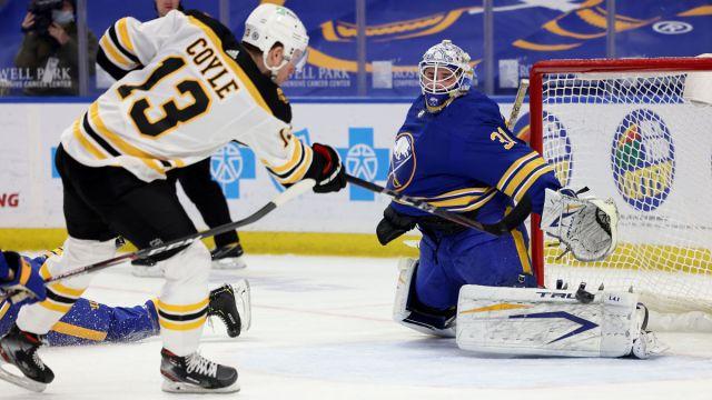Bruins forward Charlie Coyle