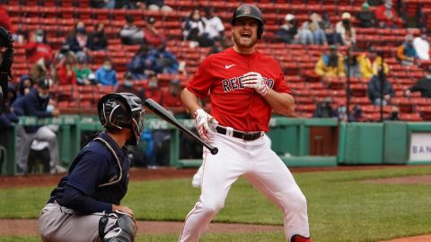 Boston Red Sox second baseman Christian Arroyo