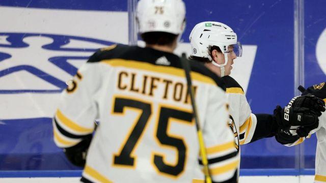 Boston Bruins defenseman Connor Clifton