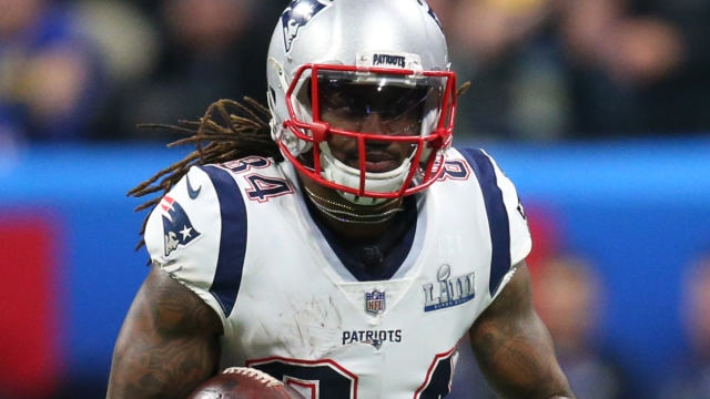 New England Patriots wide receiver Cordarrelle Patterson