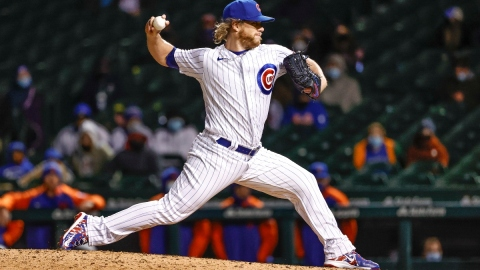 Chicago Cubs closer Craig Kimbrel