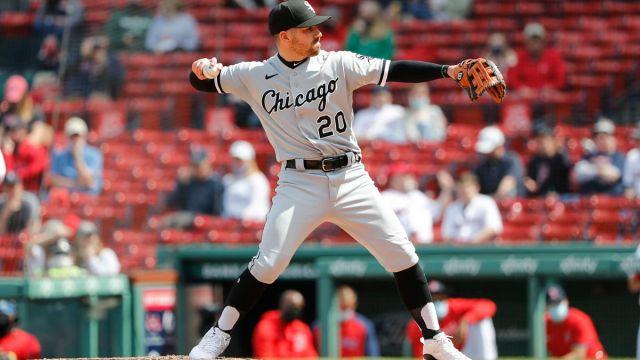 Chicago White Sox infielder Danny Mendick