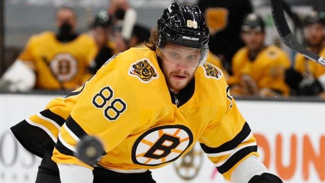Boston Bruins Right Winger David Pastrnak