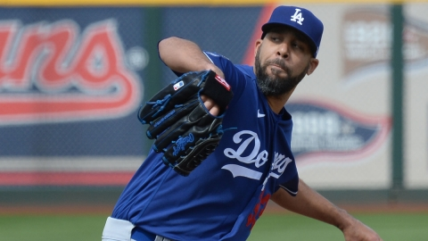 Los Angeles Dodgers Pitcher David Price