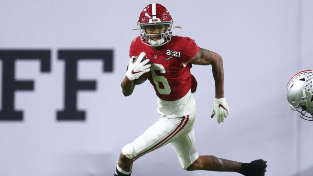 Alabama Crimson Tide Wide Receiver DeVonta Smith