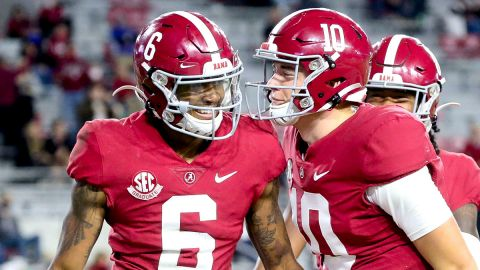 NFL Draft: DeVonta Smith, Mac Jones
