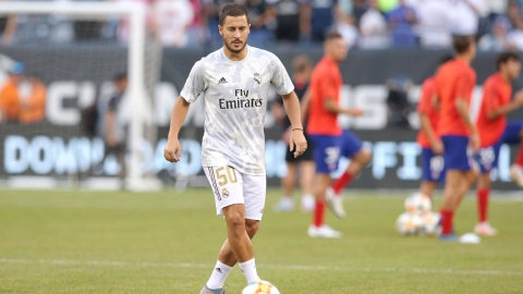 Real Madrid and former Chelsea winger Eden Hazard