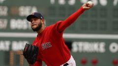Boston Red Sox starting pitcher Eduardo Rodriguez