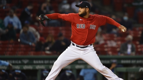 Boston Red Sox Pitcher Eduardo Rodriguez