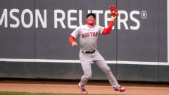 Boston Red Sox Outfielder Enrique Hernandez