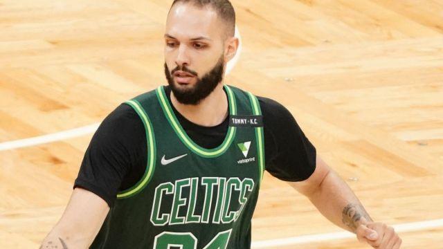 Boston Celtics wing Evan Fournier