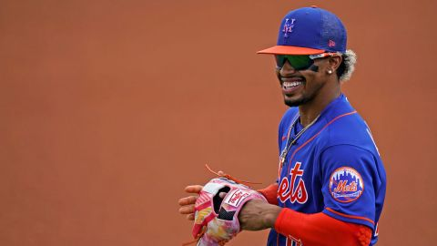 New York Mets shortstop Francisco Lindor