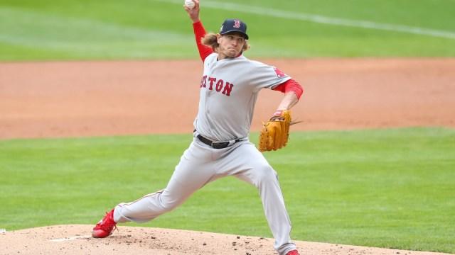 Red Sox pitcher Garrett Richards