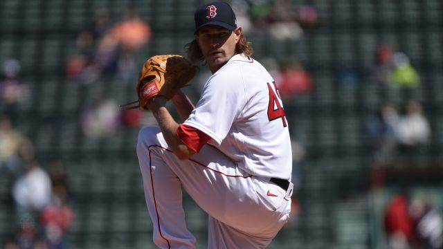 Boston Red Sox pitcher Garrett Richards