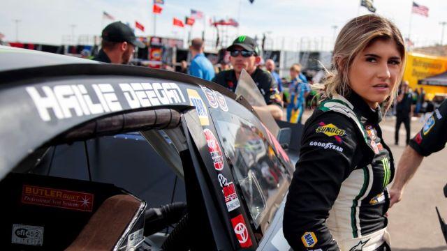NASCAR Camping World Truck Series Driver Hailie Deegan