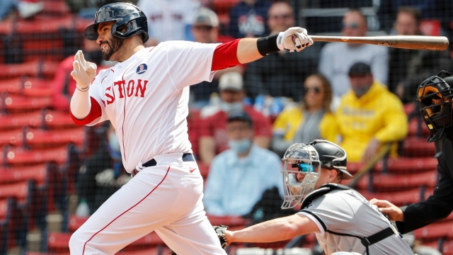 Boston Red Sox slugger J.D. Martinez (28)