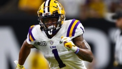 LSU and potential Patriots wide receiver Ja'Marr Chase