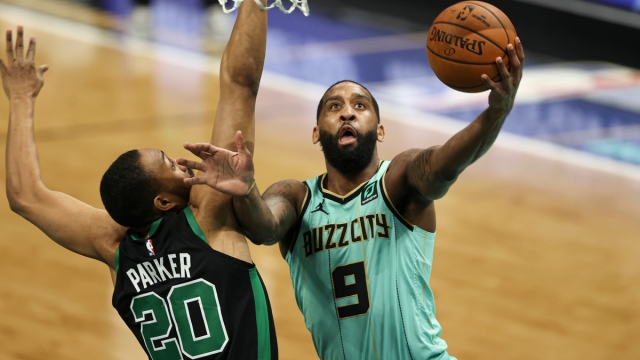 Boston Celtics forward Jabari Parker, Charlotte Hornets guard Brad Wanamaker