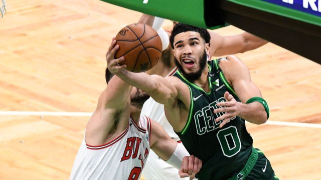Boston Celtics forward Jayson Tatum