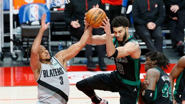 Boston Celtics forward Jayson Tatum