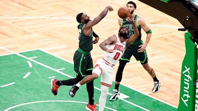 Boston Celtics Guard Jaylen Brown And Forward Jayson Tatum
