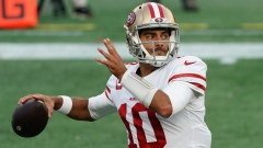 San Francisco 49ers and former New England Patriots quarterback Jimmy Garoppolo