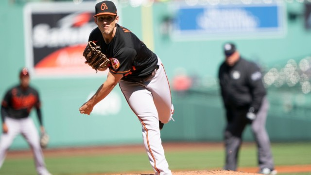 Baltimore Orioles pitcher John Means