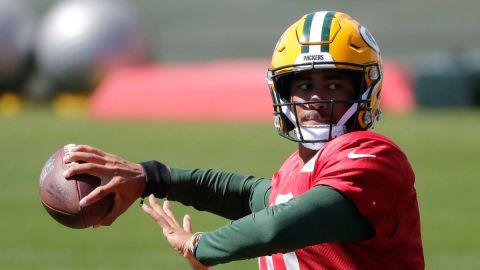 Green Bay Packers quarterback Jordan Love