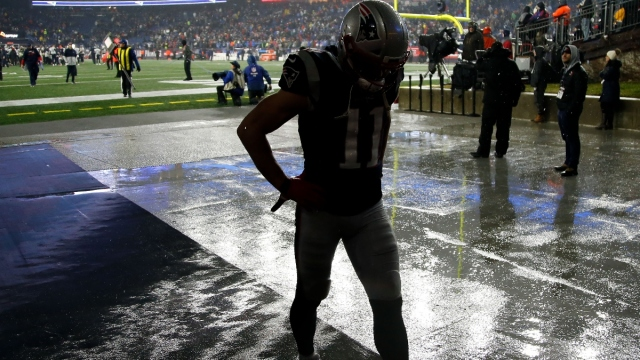 Former New England Patriots receiver Julian Edelman