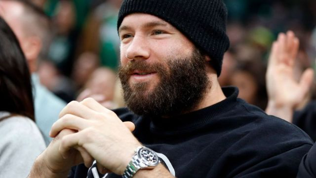 Former New England Patriots receiver Julian Edelman