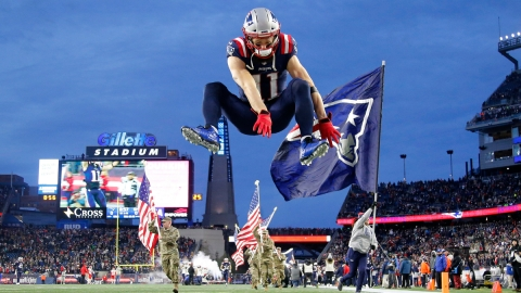 Former New England Patriots Wide Receiver Julian Edelman