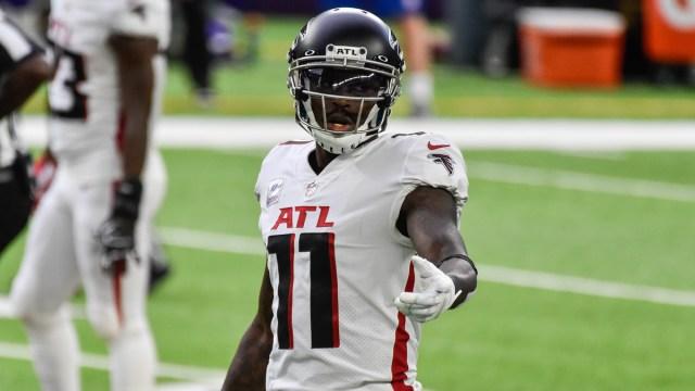 Atlanta Falcons wide receiver Julio Jones