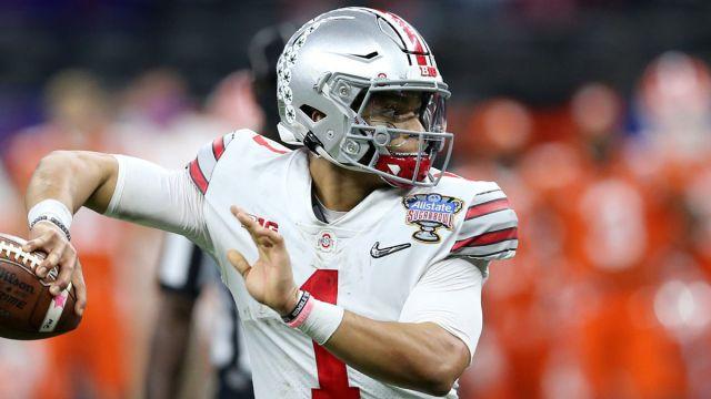 NFL Draft: Ohio State quarterback Justin Fields