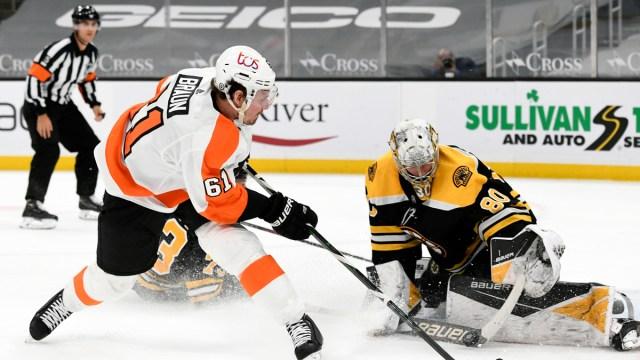 Philadelphia Flyers Defenseman Justin Braun